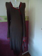 robe ou tunique longue a capuche cop copine taille 40