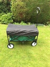 More details for  folding cart roof canopy trolley beach camping festival wagon top cover only