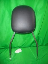 "CHROME STANDARD 17"" SISSY BAR AND BACKREST COBRA HONDA VTX1800C  080337  OEM"