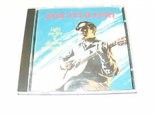 """JOSE' FELICIANO """"LIGHT MY FIRE & ALL OTHER GREATEST HITS"""" CD DUCHESSE"""