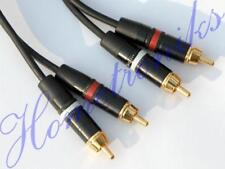 AUDIOPHILE PRO PHONO (RCA) STEREO INTERCONNECT CABLE, LEAD - 3 METRE