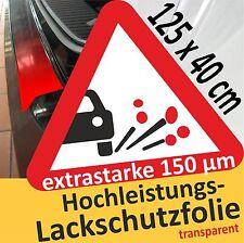 Lackschutzfolie transparent klar Ladekantenschutz Folie Steinschlagschutzfolie