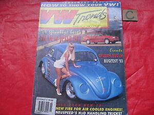 VW TRENDS MAGAZINE November 1993 OVAL-BUS-PRO STOCK DRAG-CLASSIC-RETRO RESTO-