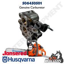 Genuine Husqvarna Carburetor 506450501   NOT AFTERMARKET   FAST SHIPPING
