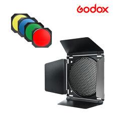 Godox BD-04 Barndoor Color Gel Filter Studio Strobe Head Camera Flash Monolight