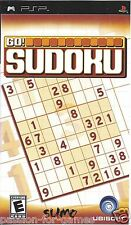 GO SUDOKU for PSP - with box & manual