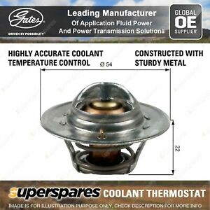 Gates Thermostat Kit for Triumph 2.5 PI 2500 BC MB GT6 KD Herald TR 3A TR 6