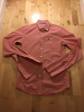 Jack Wills Men's Pink Gigham Small Shirt