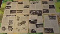 Document Salon Poids Lourd 1954 Camion Trucks Steyr  Delahaye Bernard Bourg 01