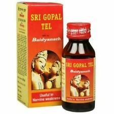 Baidyanath Sri Gopal Tel / Oil Herbal Ayurvedic Massage Oil Free Shipping
