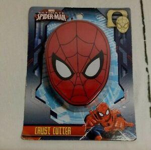 Ultimate Spider-Man Sandwich Crust Cutter Marvel Spiderman School Kids Lunch
