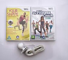 YOUR SHAPE AND CAMERA AND MY FITNESS COACH CLUB WII PAL