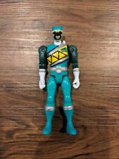 BAN DAI Power Rangers Dino Green Ranger Action Hero Figure Toy MMPR Super Charge