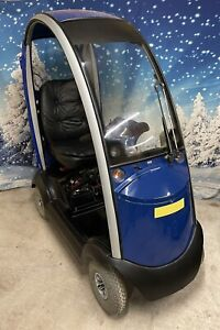 Shoprider Traveso Cabin Covered Mobility Scooter Cabincar Works + New Batteries