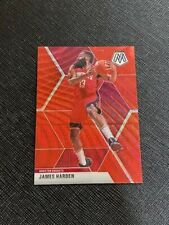 2019 Mosaic James Harden China T-Mall Exclusive Red Wave Prizm Card
