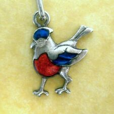 Bird Charm Sterling Silver Our State North Carolina Cardinal Figural 925