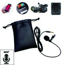 TRRS  Portable Clip Lavalier microphone For Android phone Recording Video #5