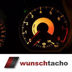 "Tachoscheibe 135i BMW 1er E81 E82 E87 E88 ""Black"" 280 Kmh erweitert auf 300 Kmh."