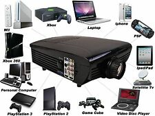 7000LM HD Home Theater Multimedia LCD LED Projector 1080-HDMI TV DVD Playstation