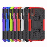 Rugged Slim Hybrid Armor Shockproof Hard Case Kickstand Cover For Huawei P20