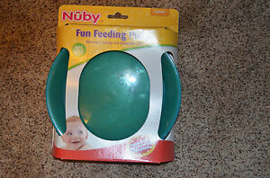 NEW Nuby 4-pack Baby Infant Fun Feeding Plates BPA FREE
