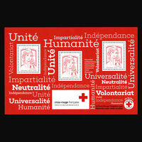France 2017 - Red Cross  S/S - Sc B775a MNH