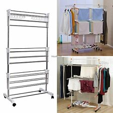 Clothes Rack Drying Laundry Hanger Household Essentials Free standing