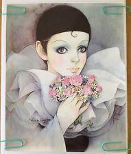 Mira Fujila Vintage Head Shop Poster Doll Face Japanese Paris Pin-up Make-up 80s