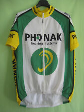 Maillot cycliste Phonak BMC Team 2002 cycling Swiss Cycles jersey - L