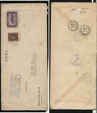 Canada  196, 201 on registered cover to US           MS0318