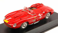 Model Car Scale 1:43 Art Model Ferrari 315 S N.5 2nd Nurburgring Collie