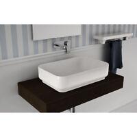 Lavandino Lavabo bagno Rettangolare da appoggio Design Giò Evolution - Ceramica