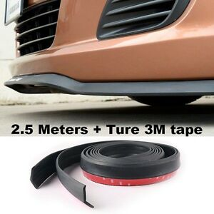 Bumper Lip Deflector Lip Skirt Spliter For Car Front Tuning Change Body Kit CD01