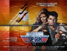 TOP GUN Affiche Cinéma GEANTE 4x3 WIDE Movie Poster TOM CRUISE