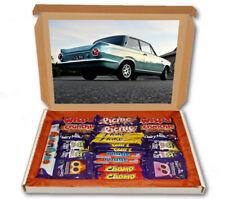 Cortina British Sports Car 24 Bar Cadbury Chocolate Hamper Personalised Gift Box