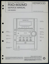KENWOOD RXD-M32MD Original Micro System Service-Manual/Diagram/Partslist o198