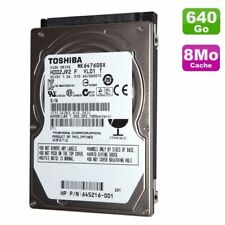 "Toshiba 640GB 2.5"" inch Sata Hard drive MK6476GSX 5400RPM Brand New not 500GB"
