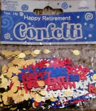"""""""Happy Retirement"""" confetti *NEW*"""