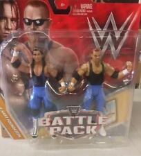 Hart Foundation WWE Mattel Battle Pack Series 47 Figure Mint Packaging