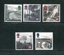 GREAT BRITAIN 1533-37, 1994 AGE OF STEAM, MNH  (ID6351)