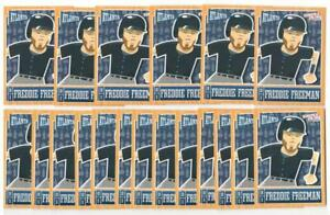 x20 FREDDIE FREEMAN 2013 Panini #4 Baseball Card lot/set Atlanta Braves Mint MVP