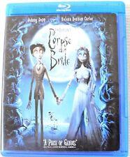 Tim Burton's Corpse Bride Blu-Ray Movie