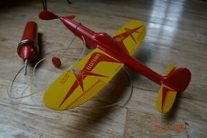 Electromic Flash Battery operated Plane Vintage