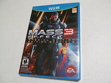 Mass Effect 3 Special Edition new factory sealed Nintendo Wii U game
