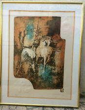 Hoi Lebadang (1912-2015) Hand Signed Lithograph 216/250 Embossed Framed