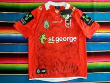 ✺Signed✺ 2016 ST GEORGE ILLAWARRA DRAGONS NRL Jersey PROOF COA 2018