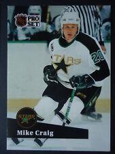 NHL 405 Mike Craig Minnesota North Stars Pro Set 1991/92