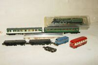 N gauge GRAHAM FARISH Assorted Coach Lot Flying Scotsman Dapol Chassis SPARES