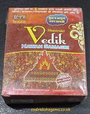HAVAN SAMAGRI HAWAN HINDU FIRE RITUAL YAGYA YAGNA YOGA MEDITATION 200 GRAMS AUM