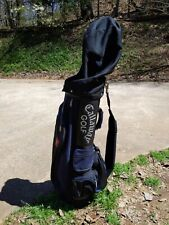 Callaway Hawkeye Golf Bag Cart Bag With 6 Way Divider includes rain Cover